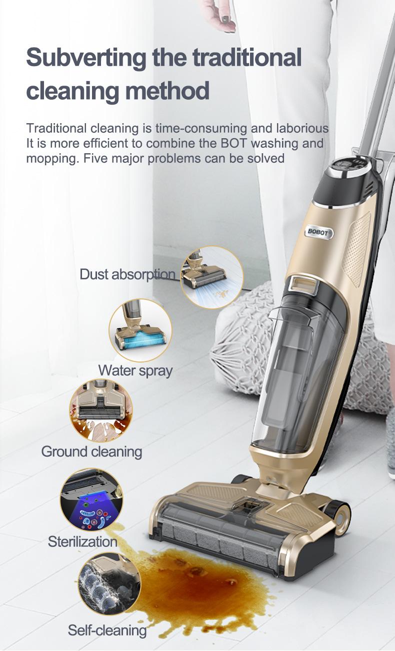 3. BOBOT DEEP 832 vacuum